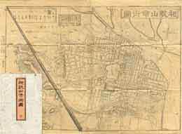 古書 買取 大阪の黒崎書店は、古地図・古絵図を出張買取いたします